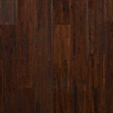 Coffee Oak Wire Brushed Solid Hardwood
