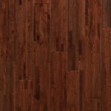 Cognac Oak Wire Brushed Solid Hardwood