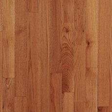 Natural Rustic Oak Smooth High Gloss Solid Hardwood