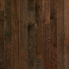 Mocha Oak Smooth Solid Hardwood