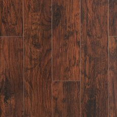 Mocha Hickory Hand Scraped Laminate