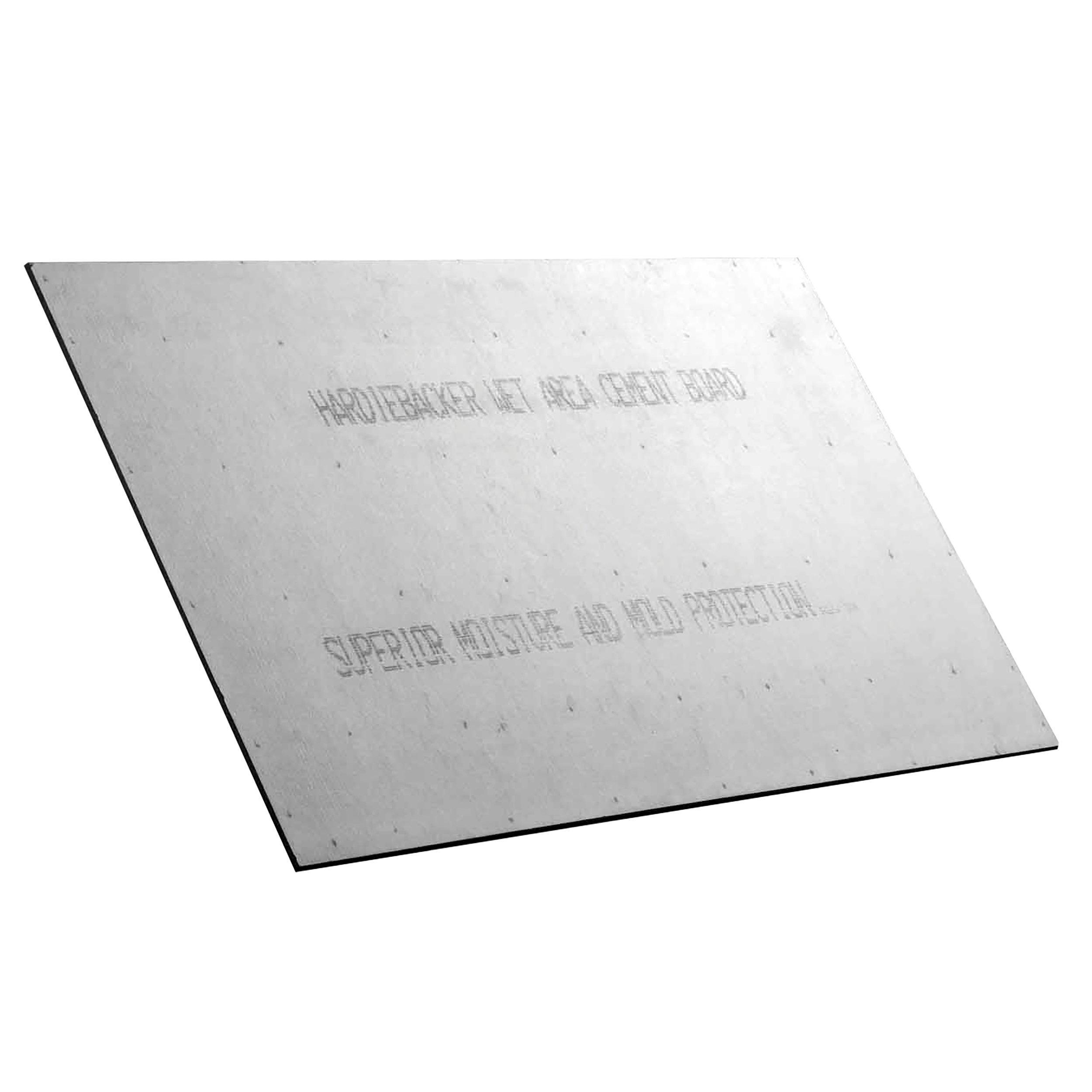 Hardiebacker Backer Board 1/2in. - .5in. x 3ft. x 5ft. - 951309900 ...