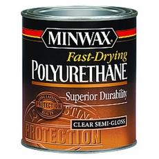 Minwax Fast-Drying Polyurethane Clear Semi-Gloss Finish