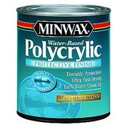 Minwax Polycrylic Clear Semi-Gloss Protective Finish