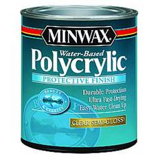 Minwax Polycrylic Clear Semi-Gloss Protective Finish
