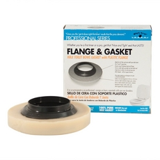 PlumBest Wax Gasket with Plastic Flange