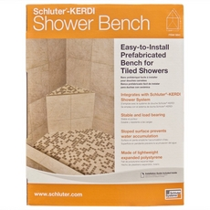Schluter-Kerdi-Shower-SB Triangular Shower Bench