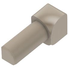 Schluter RONDEC Light Beige 1/4in. Coated PVC 90 Degree Inside Corner