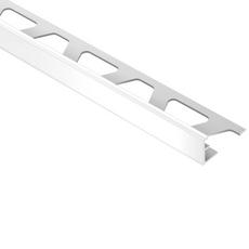 Schluter Jolly Bright White PVC Edge Profile 5/16in.