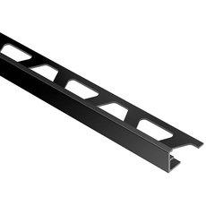 Schluter Jolly Edge Trim 5/16in. Aluminum Bright Black
