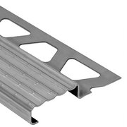 Schluter Trep-E Stair Nosing 3/16in. Stainless Steel 4ft. 11in.