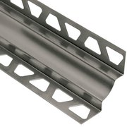 Schluter Dilex-Ehk Cove Base 7/16in. X 7/16in. Stainless Steel V4A
