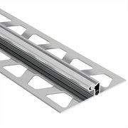 Schluter Dilex-Edp T/G Movement Trim 1-3/16in. Stainless Steel
