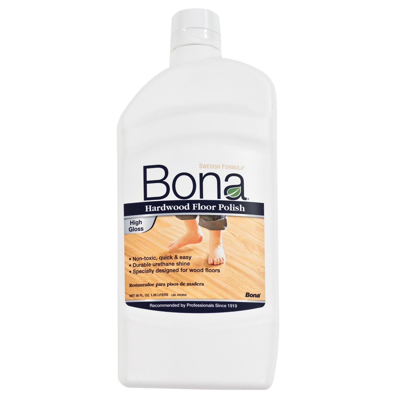 Bona Low Gloss Hardwood Floor Polish