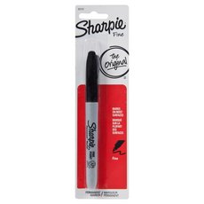 Sharpie Black Permanent Fine Marker
