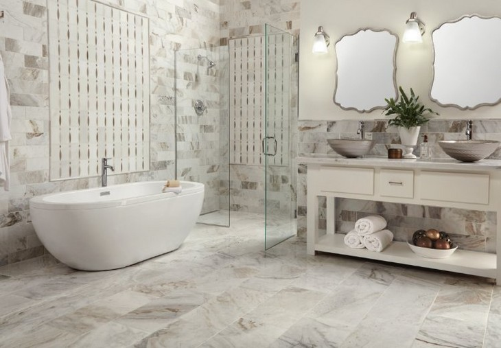 Image of beautiful bathroom