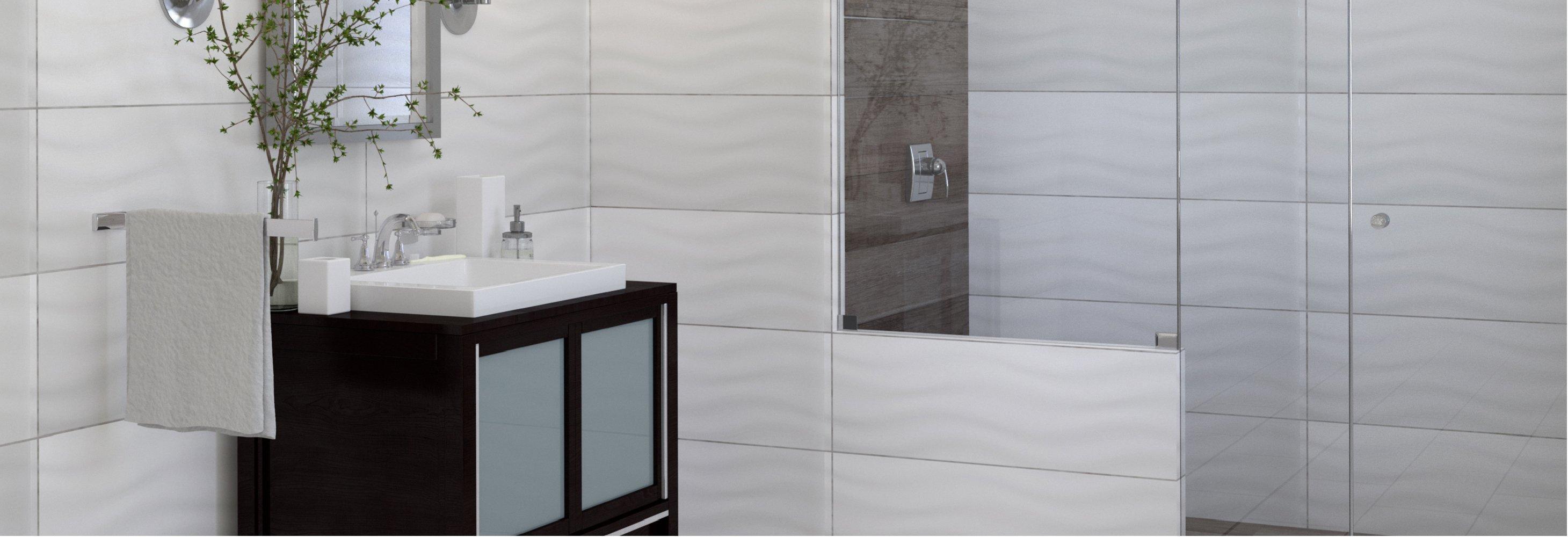 white tile floor. Contemporary White Polished Tile In White Floor