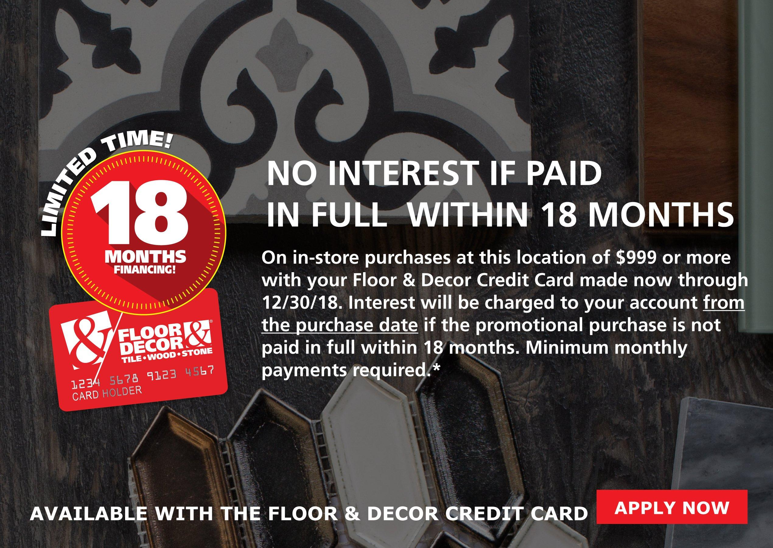 floor and decor credit card floor and decor credit card application 23674
