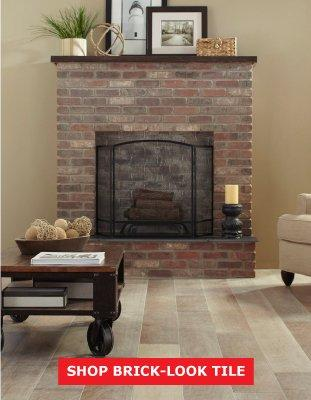 SHOP BRICK-LOOK TILE