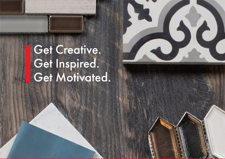 GET CREATIVE GET INSPIRED GET MOTIVATED