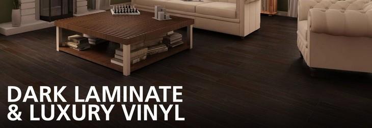 Dark laminate and vinyl flooring floor decor for Laminate and vinyl flooring