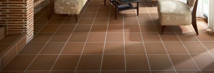 Quarry Tile Floor Decor