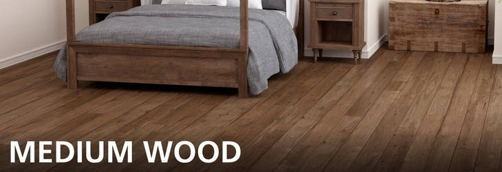 Medium Wood Flooring