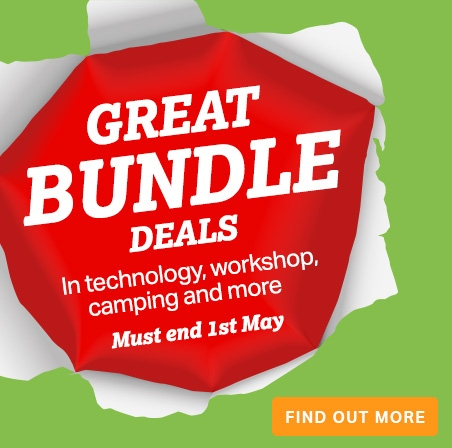 audio, camping, workshop bundle deals