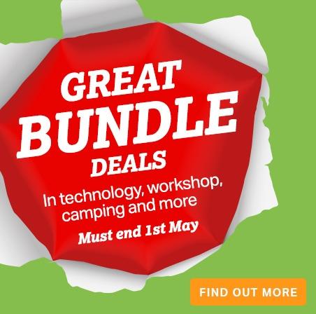 audio, camping, workshop bundle deals