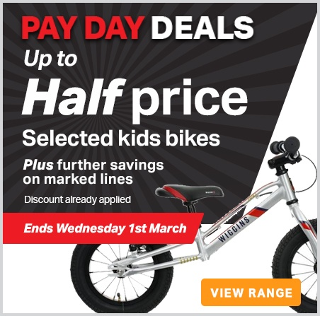 pay day kids bikes
